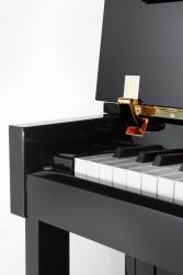 Pianino P122 N2 C/P Crni polirani