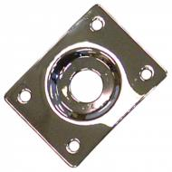 GT550 SQUARE JACK SOCKET PLATE - CHROME