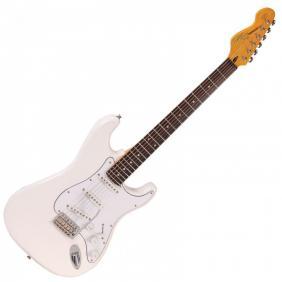 V6JMH REISSUED  - OLYMPIA WHITE FILLMORE električna gitara - 1