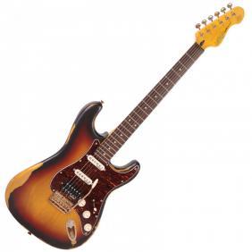 V6HMRSB ICON električna gitara  - DISTRESSED TOBACCO SUNBURST - 1