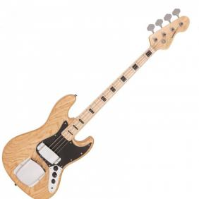 REISSUED VJ74NAT  bas gitara  MAPLE FINGERBOARD BASS - NATURAL ASH - 1