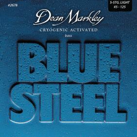 DM2678 BLUE STEEL LIGHT 5 STRING 45-125 SET ŽICA ZA BAS GITARU - 1