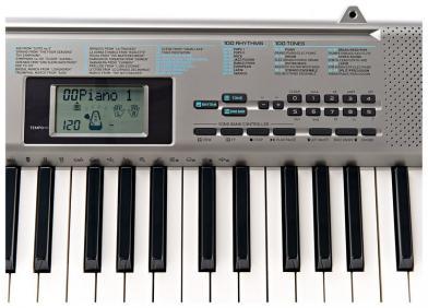 Osnovna klavijatura - 5 oktava - CTK-1300 - 5
