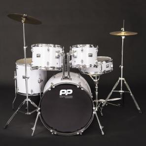 PP220WH DRUMS 5PC FUSION DRUM KIT - WHITE