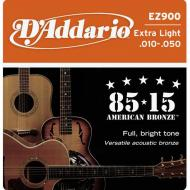 Set žica za akustičnu gitaru Extra Light 10-47 - EZ 900
